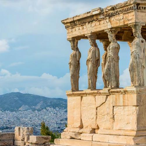 Kariatides Acropolis Athens