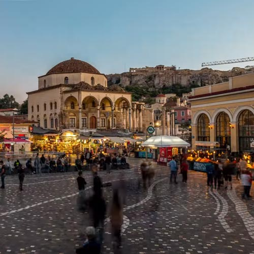 Thisio Athens